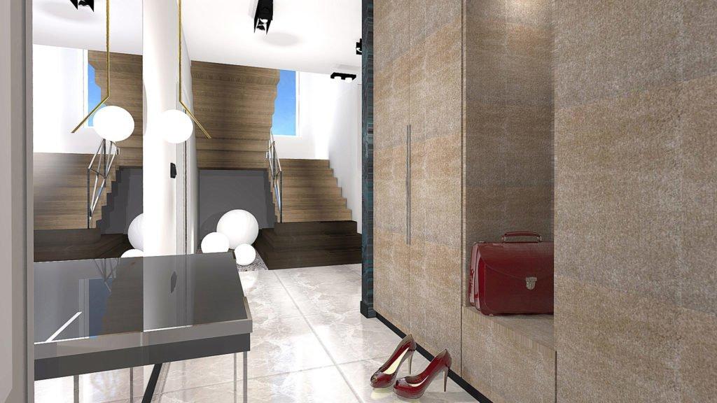 korytarz schody